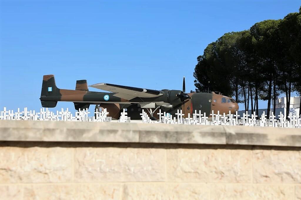 Αεροσκάφος Noratlas στο λόφο της Μακεδονίτισσας